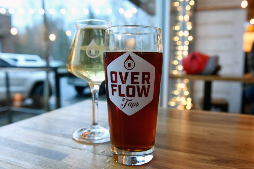 April Brews Day Events - Release Party at Overflow Taps